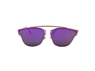 e0ce9371d2 Γυναικεία Γυαλιά Ηλίου Καθρέφτης Avery Sunglasses με Μωβ Μεταλλικό σκελετό  και Μ