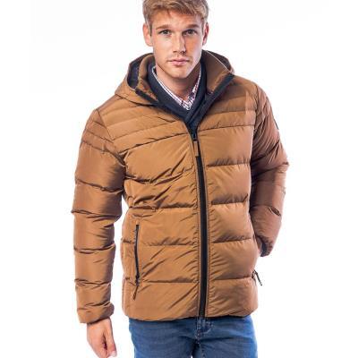 Ανδρικό Φουσκωτό Μπουφάν Puffer Jacket HEAVY TOOLS NEON Gold 8d9b9eb1b71