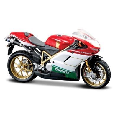 97bbc8cad7 Maisto Fresh Metal 2 Wheelers - Ducati 1098S Diecast Replica Motorcycle  11.50cm