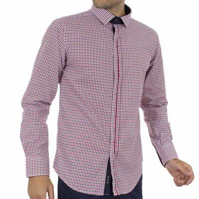 Ανδρικό Μακρυμάνικο Πουκάμισο CND Shirts 550-19 Κόκκινο 5bb3592cdd8