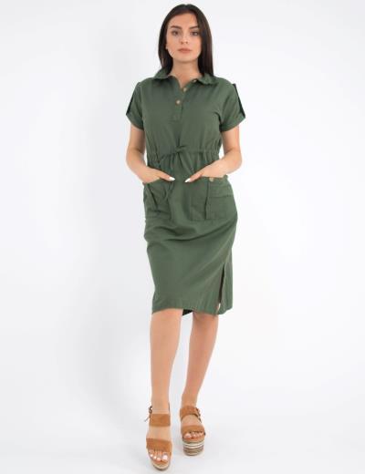 5c83689f8e φόρεμα φουστεσ huxley  u0026amp  grace γυναικα midi - Totos.gr