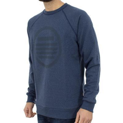 41bed0b4d9a6 Ανδρικό Μπλούζα Φούτερ SANTANA SW17-3-38 Μπλε Ραφ
