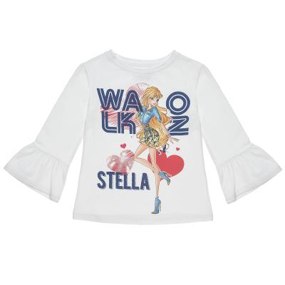 996d489dd74 Μπλούζα Winx με βολάν στο μανίκι (Κορίτσι 6-14 ετών) 00121320 ΕΚΡΟΥ