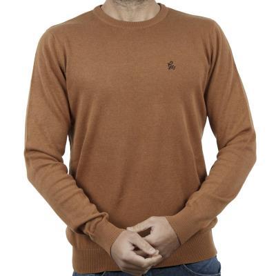 9cd3bdf083a6 Ανδρικό Πλεκτή Μπλούζα Garage55 GAM201-09218 Mustard