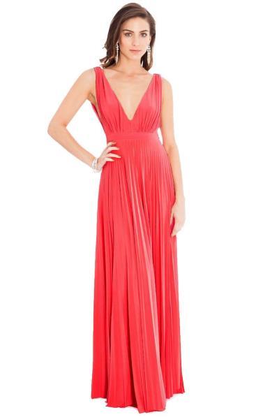 cc799e0fbdd2 grecian goddess luxe maxi φόρεμα σε coral. Άμεσα διαθέσιμο