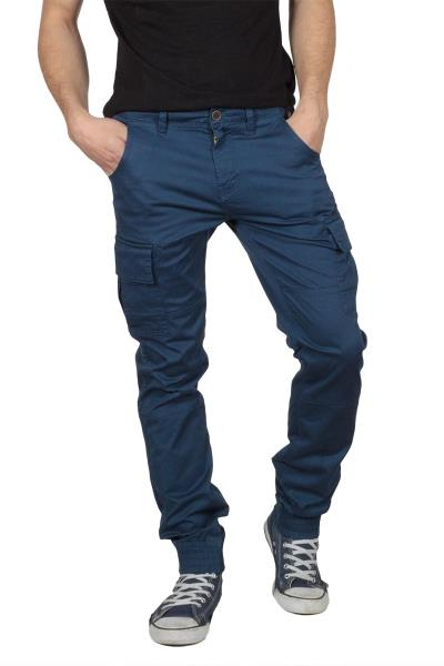 Superior Vintage jogger παντελόνι μπλε - sv270-1035s c498d888dd7