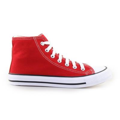 Γυναικεία sneakers μποτάκια Κόκκινο 818261f68c3