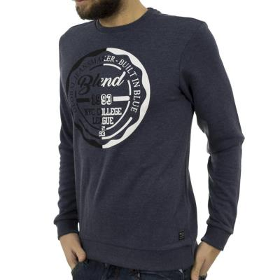 4c37eebe0d11 Ανδρικό Μπλούζα Φούτερ BLEND 20704022 Indigo