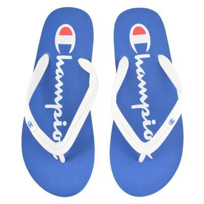 2060498eff9 Champion Flip Flop Slipper Big Classic S20604-BS036 - BLUE WHITE