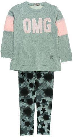 Εβίτα παιδικό σετ μπλούζα-παντελόνι κολάν «OMG» e9847c99ef5