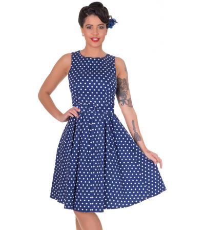 4caeeb25921f vintage pin up 50s polka dot φόρεμα Lola