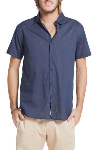 86017b7ae163 Thinking Mu Puntitos ανδρικό πουκάμισο - m-shirt-05
