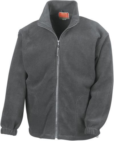 Full Zip Active ζακέτα Fleece Jacket Result R036X - Oxford Grey a4efa74b947
