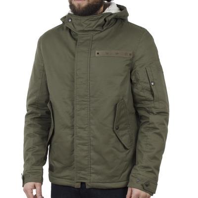 738b30e9afb9 Ανδρικό Μακρύ Μπουφάν Parka Jacket με Κουκούλα ICE TECH A500-17 ανοιχτό  Πράσινο