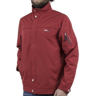 e69f6a45816f Ανδρικό Ελαφρύ Μπουφάν Semi Long Jacket DOUBLE MJK-126 Κόκκινο