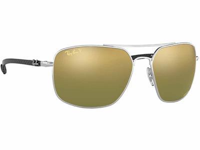 ad999f3b96 Γυαλιά ηλίου Ray-Ban Chromance RB 8322CH 003 6O Polarized Ασημί Πράσινο  Χρυσό Ντ