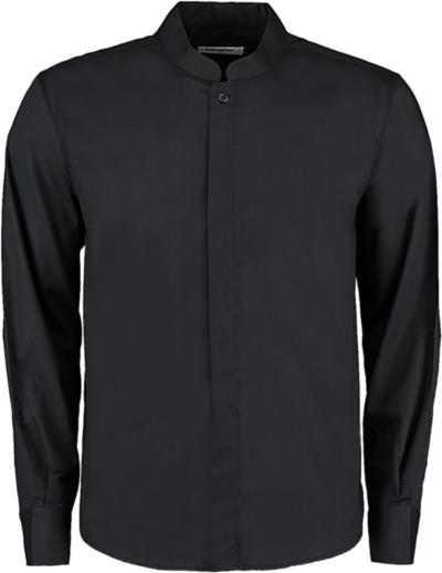 Πουκάμισο με μάο γιακά Bargear Bargear KK123 - Black f26f0a35672