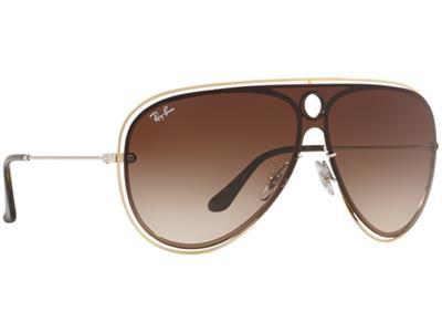 62445dd898 Γυαλιά ηλίου Ray-Ban Blaze Shooter RB 3605N 9096 13 Χρυσό Ασημί Καφέ  Ντεγκραντέ