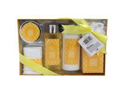 Σετ Μπάνιου 6 τεμ. με είδη Περιποίησης Σώματος Meyer Lemon σε Συσκευασία  Δώρου - a1cd85ed338