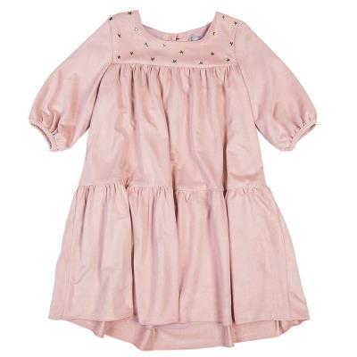 Φόρεμα με μεταλλιζέ αστεράκια (Κορίτσι 6-12 ετών) 00941534 ΡΟΖ c9b3f4a18c5