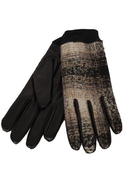 Anerkjendt Bille ανδρικά γάντια δερμάτινα με τουίντ - 9518812 7b8bd5b47fe
