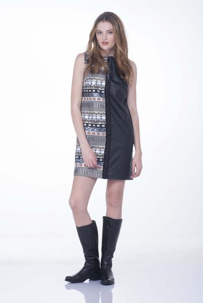 6191f7ffe32c φόρεμα shop μαυρο δερματινη - Totos.gr