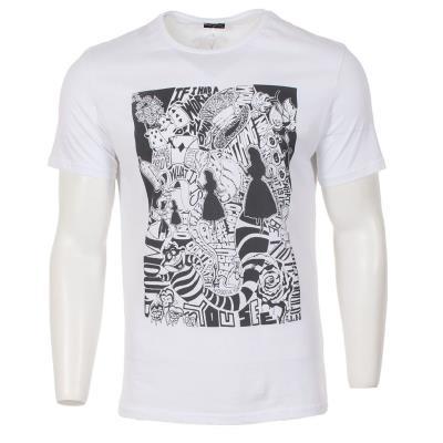 bfcdecdf6a1f Ανδρικό Κοντομάνικη Μπλούζα T-Shirt Free Wave 51162 Λευκό