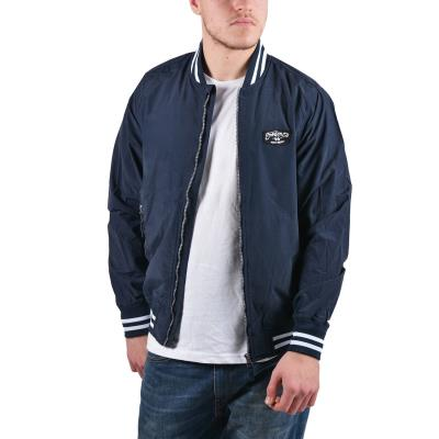 Emerson Men s washed jacket with rib bottom 181.EM15.20-004 - CN NAVY f2d142e4627