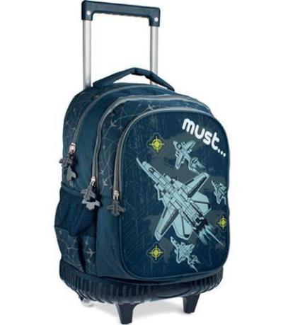 9d6f22b2023 Τσάντα σχολική τρόλλευ Must steps airplane 0579275 ΔΙΑΚΑΚΗΣ ΕΙΣΑΓΩΓΙΚΗ ΑΕ  (05792
