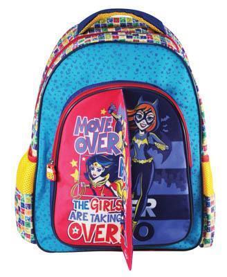 3ec979573d0 Σχολική τσάντα Δημοτικού SUPER HERO GIRLS με 3 θήκες 32x43x18cm 0504902
