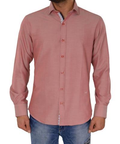 33771bafeb59 Ανδρικό πουκάμισο GioS κόκκινο 905717G