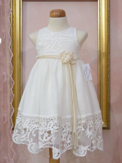 34cd9a71d02 φόρεμα εκρου κοριτσιου rose - Totos.gr