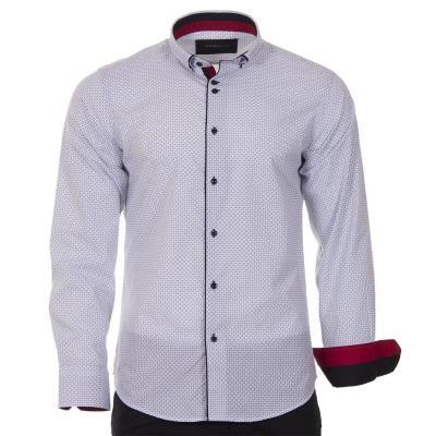0819435cd8ab Ανδρικό Μακρυμάνικο Πουκάμισο Slim Fit CND Shirts 1750-5 Λευκό