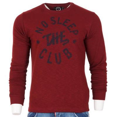Ανδρικό Μακρυμάνικη Μπλούζα Cotton4all 18-420 Μπορντό fc5218d264d