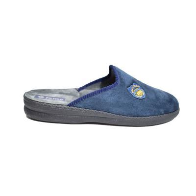 Παντόφλα Ανδρική Alcantara NL 1204 Μπλε c0a3535fe72