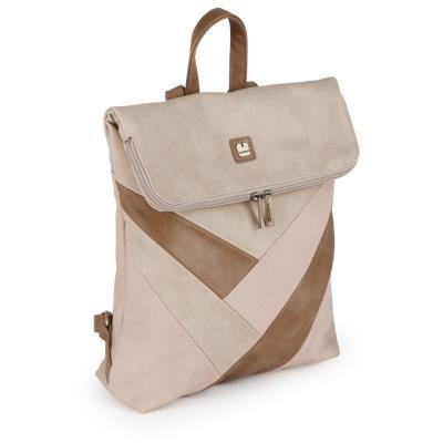 377ccbadf3 Γυναικεία τσάντα σακίδιο Gabol Ray 534242 σε μπεζ χρώμα έως 6 άτοκες δόσεις
