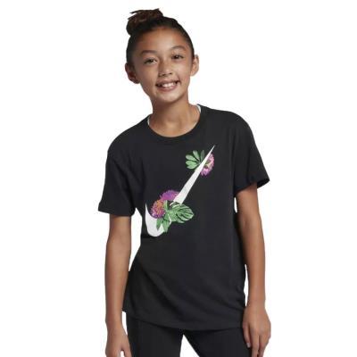 da7261af6b Nike Sportswear Girls Swoosh T-Shirt - Παιδικό Μπλουζάκι AR5089-010 - Black
