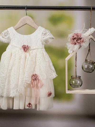 8ff24a6e706 Bambolino Βαπτιστικό Φόρεμα