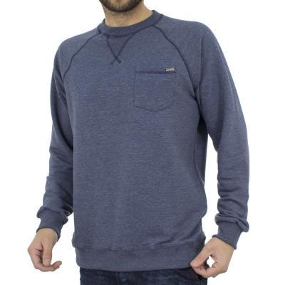 be625030e0aa Ανδρικό Μπλούζα Φούτερ SANTANA MARMEL SW17-3-07 Μπλε ραφ