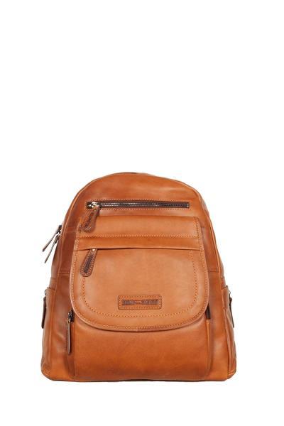 dfc753232a Hill Burry δερμάτινο backpack καφέ - vb100258-6172-br