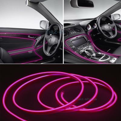 4ecdf85b35f4 Εύκαμπτο LED καλώδιο 2m για την εσωτερική διακόσμηση κάθε αυτοκινήτου - El  wire