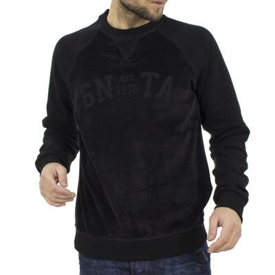 4e4ac1f97763 Ανδρικό Μπλούζα Φούτερ SANTANA SW17-3-36 Μαύρο