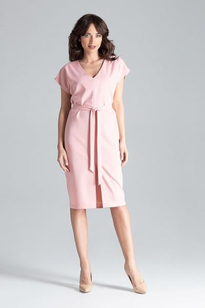 07ccc85973e0 Ασύμμετρο strapless μίνι φόρεμα με πιέτες - Ροζ