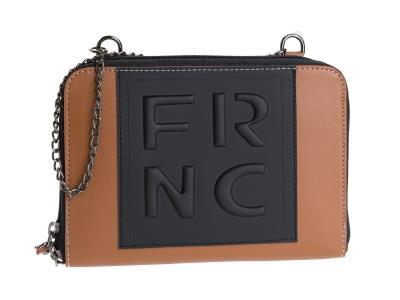 FRNC Γυναικείο Τσαντάκι WAL010 TABAC ce4ca81d3fe
