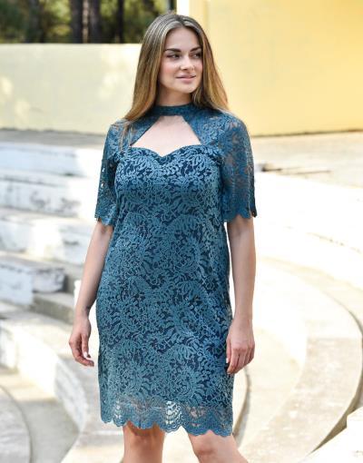 9b0dca9fe6e6 φόρεμα xs μπλε midi - Totos.gr