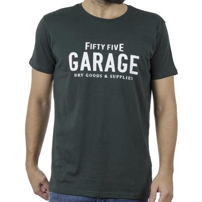 f463aab3d854 Ανδρικό Κοντομάνικη Μπλούζα T-Shirt Garage55 GAM226-04119 Pesto