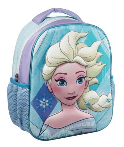 ce08fdb0c5c Σχολική τσάντα νηπίου 3D FROZEN ELSA με 1 θήκη 27x31x10cm 0561716