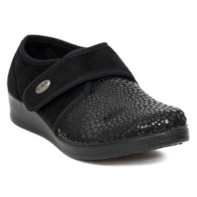Ανατομικά Παπούτσια Casual Γυναικεία FLY FLOT N3886 CW BLACK 280d74446f8