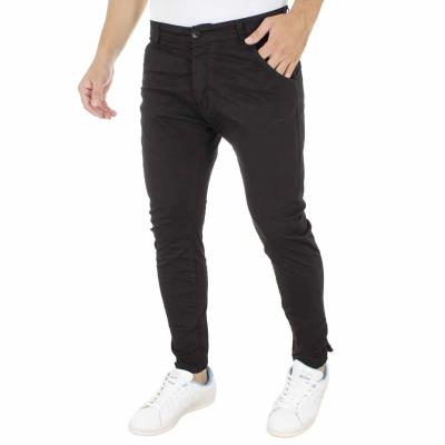 f123a19acf02 Ανδρικό Chinos Παντελόνι Back2Jeans M65 Μαύρο