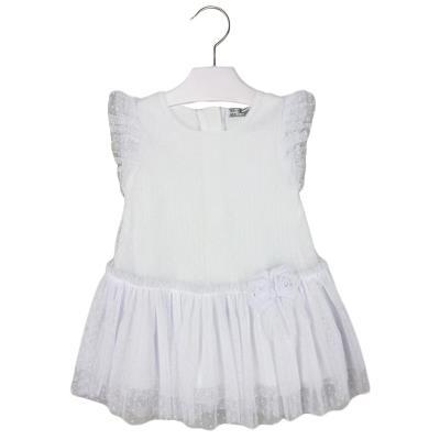 ddb560acf61 Φόρεμα 25-01925-035 Λευκό Mayoral